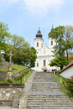 Benedictine monastery in Tihany. Hungary Royalty Free Stock Photo