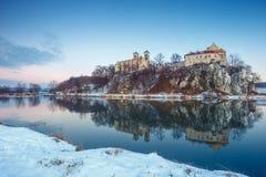 Benedictine monastery in Tyniec Royalty Free Stock Photography