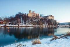Benedictine monastery in Tyniec Stock Images