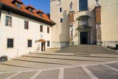 Benedictine monastery in Tyniec Stock Photos