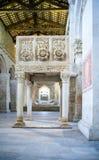 Benedictineabbotskloster av Abruzzo Royaltyfri Foto