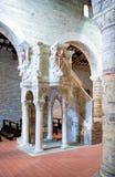 Benedictineabbotskloster av Abruzzo Arkivbild