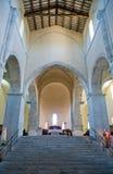Benedictineabbotskloster av Abruzzo Royaltyfri Fotografi