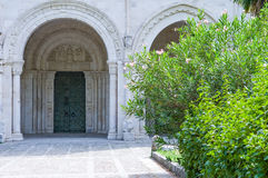 Benedictineabbotskloster av Abruzzo Royaltyfri Bild