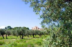 Benedictineabbotskloster av Abruzzo Fotografering för Bildbyråer