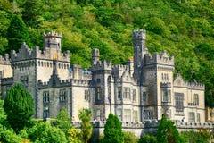 Benedictineabbotskloster, Kylemore, Irland Royaltyfria Foton