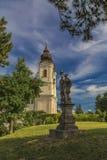 Benedictineabbotskloster på kusterna av sjön Balaton Royaltyfri Bild