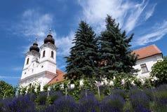 Benedictinee-Abtei in Tihany Stockfotografie
