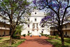 Benedictineklooster New Norcia, Westelijk Australië stock afbeeldingen