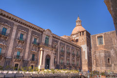 Benedictinekloster, Catania Royaltyfria Bilder