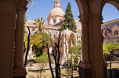 Benedictinekloster, Catania Royaltyfria Foton