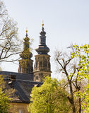 BenedictineMonatery Banz abbotskloster Arkivbilder