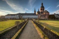 Benedictino Abbey Herb Garden Imágenes de archivo libres de regalías