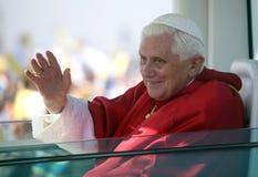 Benedicto XVI adentro   Fotos de archivo