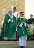 Benedicto XVI adentro   Foto de archivo libre de regalías