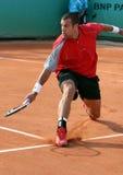 Benedikt Dorsch (GER) at Roland Garros Stock Image