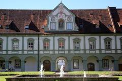 Benediktbeuern-Abtei, Deutschland Lizenzfreies Stockfoto
