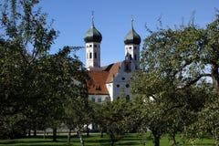 Benediktbeuern, monasterio Imágenes de archivo libres de regalías