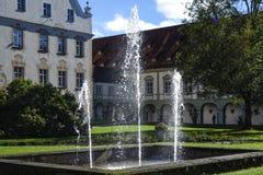 Benediktbeuern, monasterio Fotografía de archivo libre de regalías