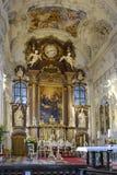 Benediktbeuern, monasterio Foto de archivo libre de regalías