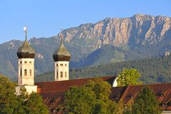 Benediktbeuern in Upper Bavaria Royalty Free Stock Photo