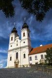 Benediktiner-Abtei auf dem Tihany Stockfotografie