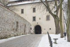 Benediktiner-Abtei in Tyniec außerhalb Krakaus, Polen Stockbild