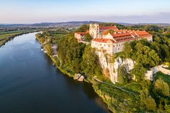 Benediktiner-Abtei in Tyniec, Polen Lizenzfreies Stockbild