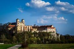 Benediktiner-Abtei in Tyniec, Polen Stockfotos