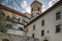 Benediktiner-Abtei in Tyniec, Polen Lizenzfreie Stockbilder