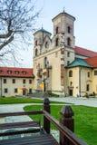 Benediktiner-Abtei in Tyniec, Polen Lizenzfreies Stockfoto