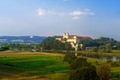Benediktiner-Abtei in Tyniec, Polen, Krakau Stockfotos