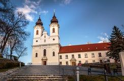 Benediktiner-Abtei, Ungarn Stockfotos