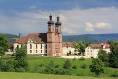 Benediktiner-Abtei von St Peter in Deutschland Lizenzfreies Stockbild
