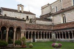 Benediktinerabtei des 9. Jahrhunderts, Verona, Italien Stockbild