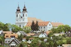 Benediktinerabtei in Tihany, Ungarn Stockbild