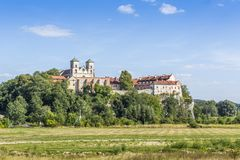 Benediktinerabtei in Tyniec, Krakau, Polen Stockfoto