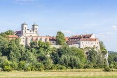 Benediktinerabtei in Tyniec, Krakau, Polen Lizenzfreies Stockbild