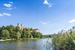Benediktinerabtei in Tyniec, Krakau, Polen Stockfotos