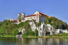 Benediktinerabtei in Tyniec, Krakau, Polen Lizenzfreie Stockfotos