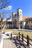 Benediktinerabtei in Tyniec nahe Krakau, Polen Lizenzfreie Stockfotos