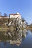 Benediktinerabtei in Tyniec nahe Krakau, Polen Lizenzfreie Stockfotografie
