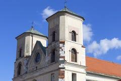 Benediktinerabtei in Tyniec nahe Krakau, Polen Stockfoto