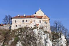 Benediktinerabtei in Tyniec nahe Krakau, Polen Lizenzfreies Stockfoto