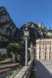 Benediktinerkloster bei Montserrat nahe Barcelona Stockfoto