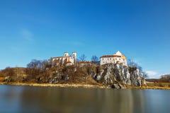 Benediktinerkloster in Tyniec Stockfotos