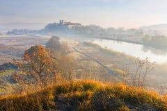 Benediktinerkloster in Tyniec nahe Krakau, Polen Lizenzfreies Stockfoto