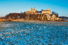 Benediktinerkloster in Tyniec, Polen Stockfotos