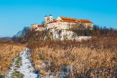 Benediktinerkloster in Tyniec, Polen Stockfoto