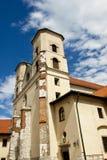 Benediktinerkloster in Tyniec, Polen. Stockfotos